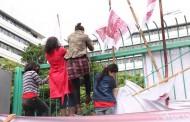 Migrant Day : SBMI Aksi Lompati Pagar Kemenaker RI
