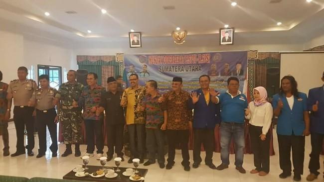 Mbelin Sembiring Brahmana Pimpin F.SPTI-K.SPSI Sumatera Utara