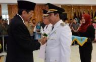 Gubsu Tengku Erry Nuradi Lantik Togar Sitorus sebagai Wakil Wali Kota Pematangsiantar