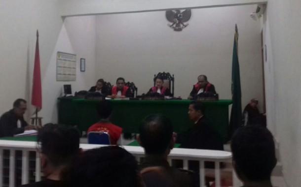 Dirly Penganiaya Nadya di Hukum 12 Tahun Penjara.