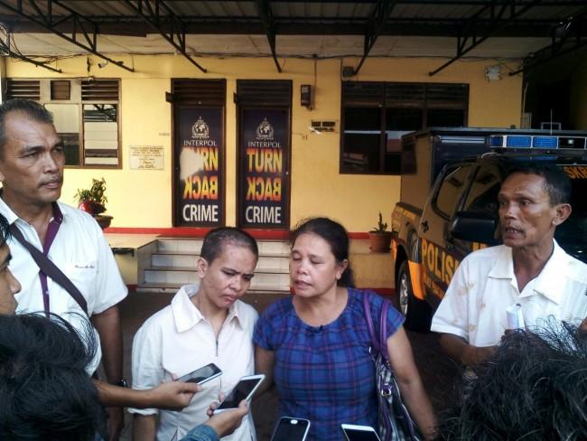 Serti Mariana PRT Korban Penganiayaan Kembali di Mintai Keterangan oleh Polres Pematangsiantar