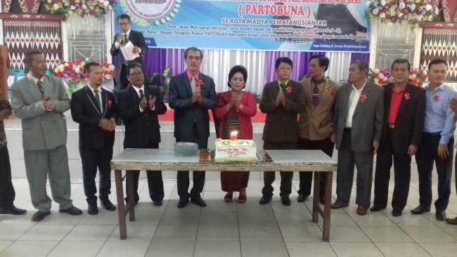 Perayaan Paskah dan HUT ke 63 PARTOBUNA Kota Siantar Sukses
