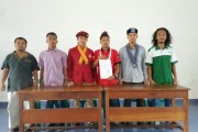 Mahasiswa dan Pedagang Pasar Horas Kutuk Keras Pemukulan Terhadap Rekannya