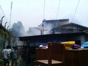 Kabakaran di Jalan Sriwijaya,Kota Siantar