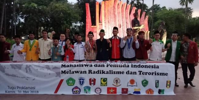 Mahasiswa dan Pemuda Indonesia Deklarasi Lawan Radikalisme dan Terorisme