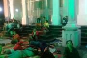 Tak Berhasil Temui Wali Kota Hefriansyah, Pedagang BALIMPEL Lakukan Aksi Inap di Balai Kota Siantar