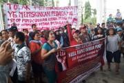 Pedagang Balimpel Pasar Horas dan Mahasiswa Duduki Balai Kota Siantar