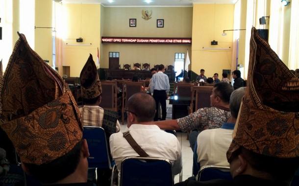 Ini Nama-nama Panitia Hak Angket DPRD Siantar Tentang Dugaan Penistaan Etnis Simalungun