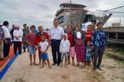 Kapal Penyeberangan Ke Samosir Hampir Rampung, Beroperasi pada Natal dan Tahun Baru