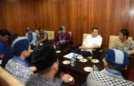 Temui Ketua DPR, GMKI: Ekonomi Keumatan Untuk Semua Umat