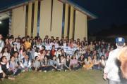 GMKI Cabang Kota Pematangsiantar-Simalungun Lantik 150 Anggota Baru
