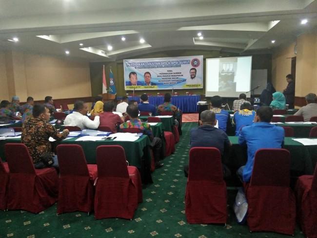 Peningkatan SDM Pekerja, DPD K.SPSI Sumut Laksanakan Pelatihan Bagi Anggota