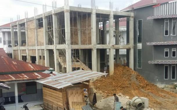 Pembangunan Gedung CT Scan RSUD Doloksanggul Tak Kunjung Rampung