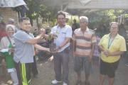 MD Kahmi Kota Siantar Lakukan Jalan Santai dan Pemberian Bibit Pohon Pada Warga