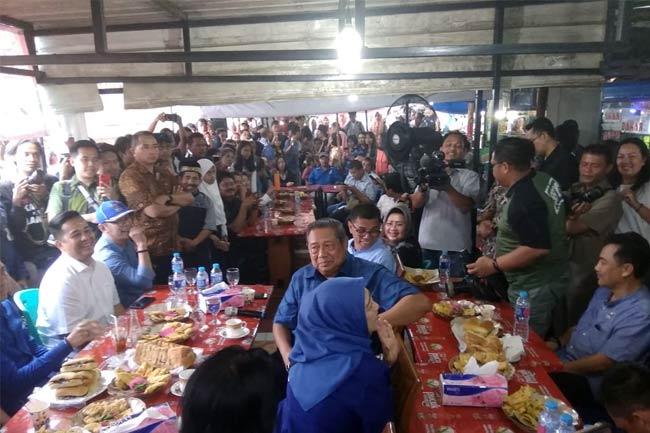 Mantan Presiden RI, SBY Kunjungi Kota Pematangsiantar