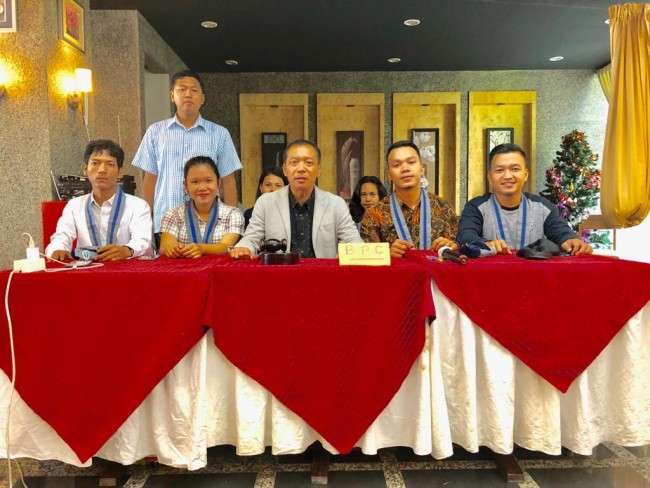 Rekson Silaban Hadiri Konferensi Cabang GMKI PSS XXVIII