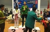 Rebeca Rosalina Atlit Simalungun Raih Emas Di Kejuaraan Taekwondo se-Sumatera