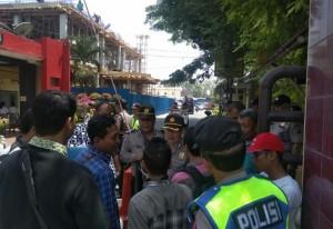 Persatuan Mahasiswa (PM-Sumut) di Mapolda Sumut.
