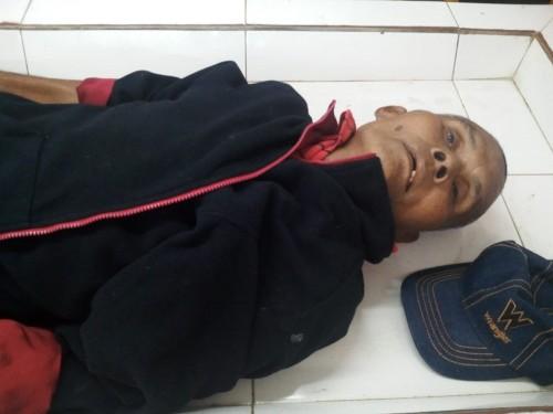PARTOBUNA Siantar Serahkan Mayat Amos ButarButar Kepada Keluarganya