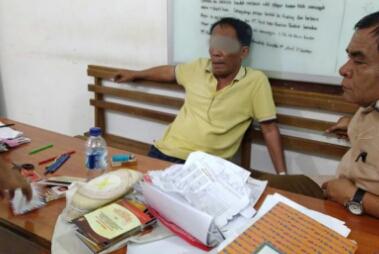 Polres Siantar Tangkap TS Caleg DPR-RI Diduga Lakukan Money Politik