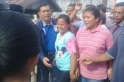 Bupati Simalungun JR Saragih Tinjau Jalan Rusak di Nagori Bahgunung