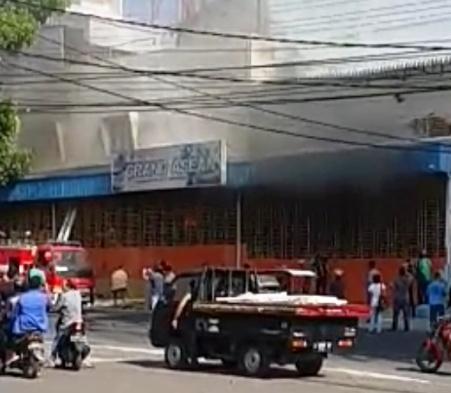Restoran Grand Asean Nyaris Ludes Terbakar