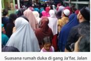 Jenazah TKI Wilda Apriani Tiba di Siantar, Sanak Keluarga Histeris