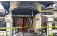 Diduga Korsleting, Rumah Mantan Kasat Narkoba Simalungun Terbakar