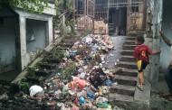 Sampah Masih Menggangu Kenyamanan Pusat Pasar Horas Siantar