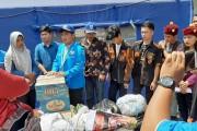 DPD KNPI Pematangsiantar Berikan Bantuan Korban Kebakaran