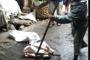 Astaga, Ditemukan Ular di Pasar Horas