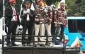 PHK Sepihak, Ribuan Buruh PT Krakatau Steel Unjuk Rasa