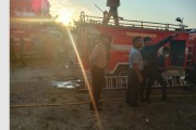 Subuh, Talenta Cafe Siantar Kebakaran