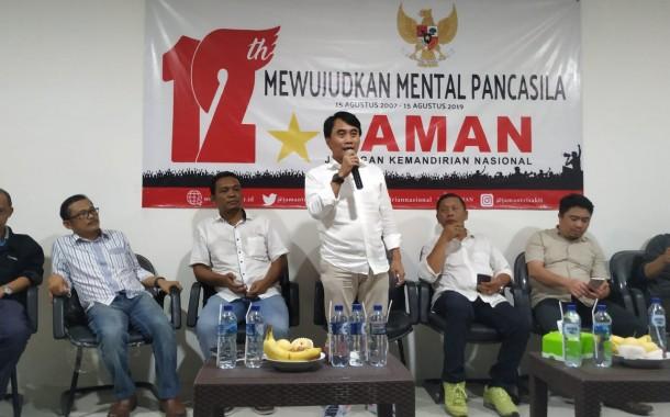 JAMAN Peringati HUT Ke-12, Revolusi Mental Menuju Mental Pancasila