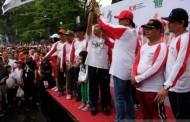 Ribuan Warga Siantar Jalan Sehat Bersama BUMN Hadir Untuk Negeri