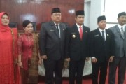 Walikota Pematangsiantar Lantik 5 Pejabat Eselon II Plt Menjadi Defenitif