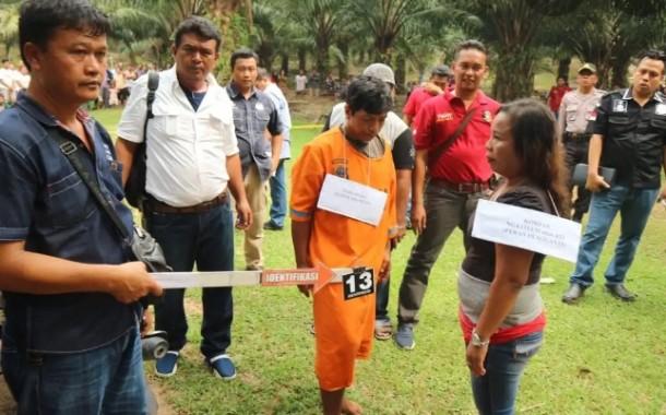 Samidi Alias Senen Pembunuh Ngatiem Dituntut 10 Tahun Penjara