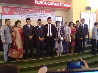Anggota DPRD Siantar Periode 2019-2024 Dilantik