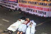 Aliansi Rakyat Lawan Korupsi: Lantik Pimpinan KPK Yang Baru, Dukung UU KPK Yang Disahkan DPR