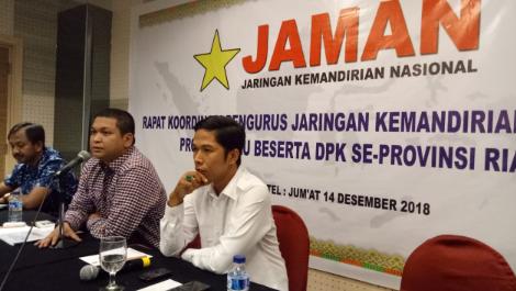 Ini Saran JAMAN Riau Ke Pemprov Riau atas Peristiwa Karhutla