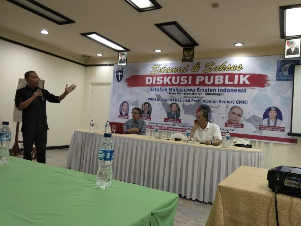 GMKI SS - PNPS GMKI : Pasca Pilpres 2019, Gereja Siap Hadapi Revolusi Industri 4.0