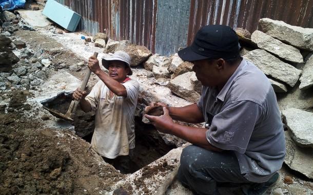 Granat Aktif Ditemukan Saat Bongkar Bangunan Tua Di Jalan Cipto, Siantar