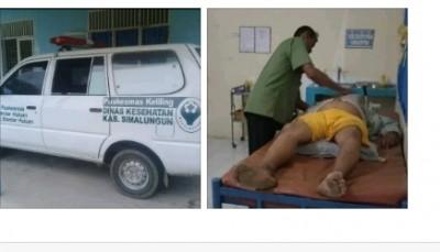 Tolak Pinjamkan Ambulance Puskesmas Bandar Huluan Kab.Simalungun Terlantarkan Pasien Sekarat