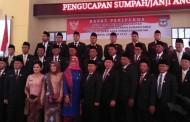 Timbul Lingga Jabat Ketua DPRD Siantar Periode 2019-2024