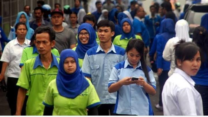 Kementerian Ketenagakerjaan Putuskan Upah Minimum Tahun 2020 Naik 8,51 Persen