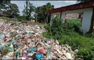 GMKI Siantar-Simalugun : Eks Kantor Bupati Simalungun Dijadikan Gunung Sampah