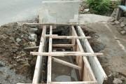 Tak Sesuai Jalur Semula, Pembangunan Drainase Di Protes Warga
