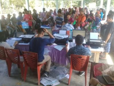 Disdukcapil Kabupaten Simalungun Turun Ke Nagori Terkait Kelengkapan Akta Kependudukan