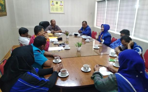K.SPSI Sumut Audiensi Ke Dinas Ketenagakerjaan Terkait Isu Omnibus Law
