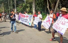 Stop Kekerasan Jurnalis, AJI Gelar Aksi Keprihatinan di Siantar